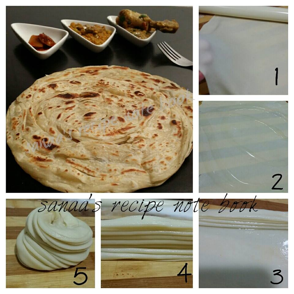 Bread / Roti - sanaa's recipe
